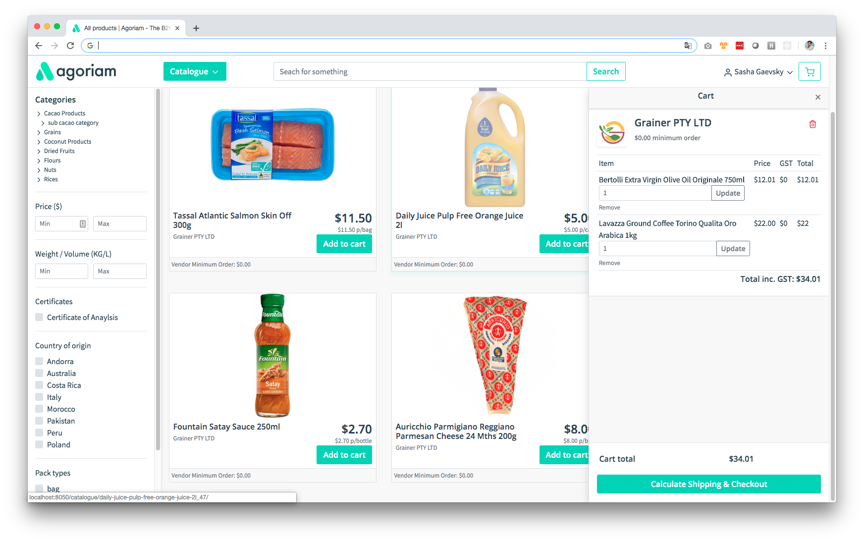 Custom ecommerce development and business automation using